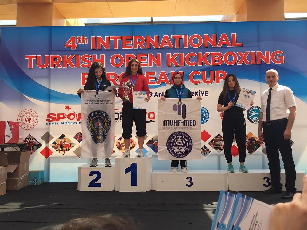 Melike gewinnt die Turkish Open