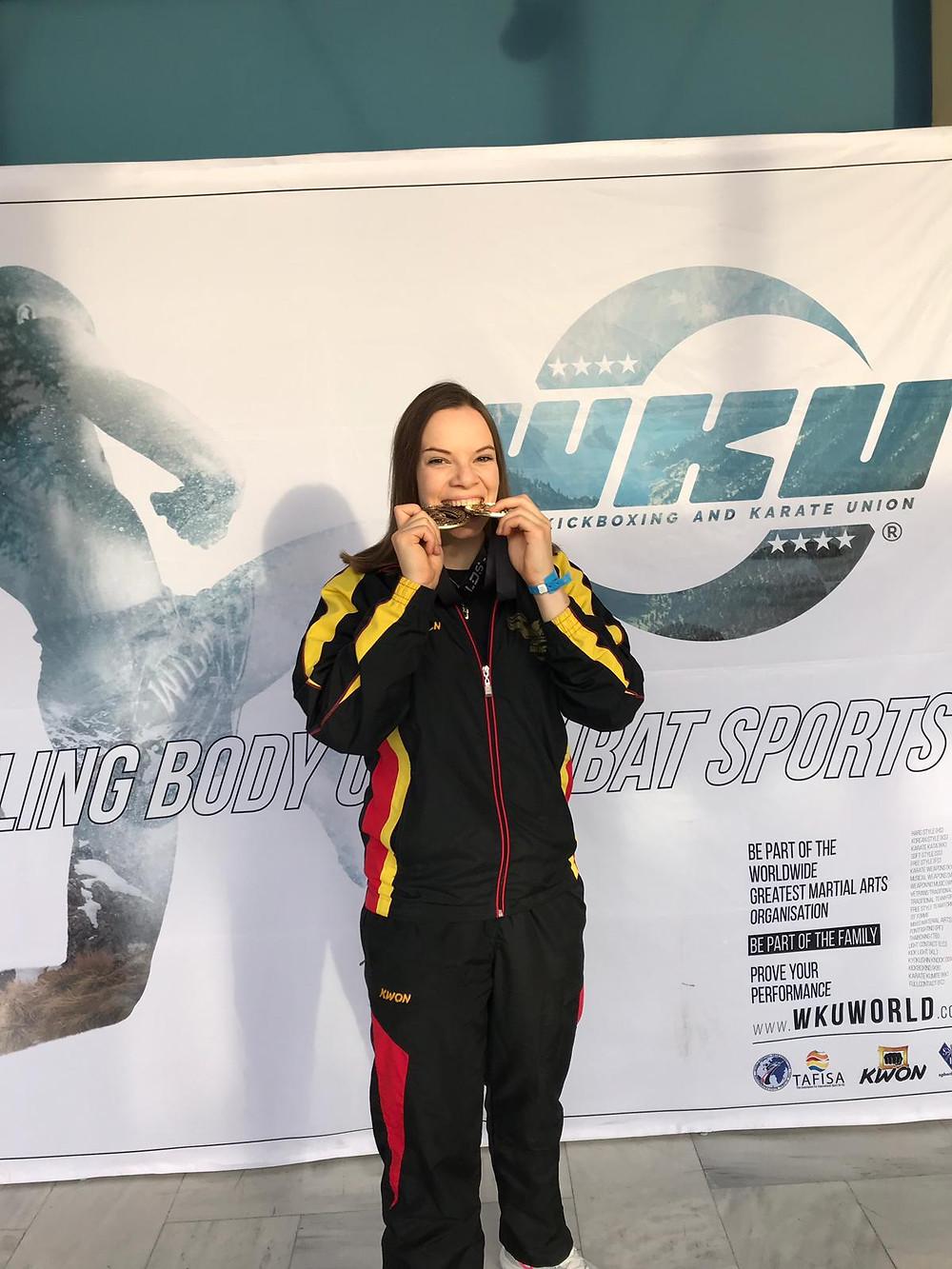 Jenny Dahlström wird Weltmeisterin