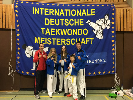 Erfolgreiche deutsche Meisterschaft