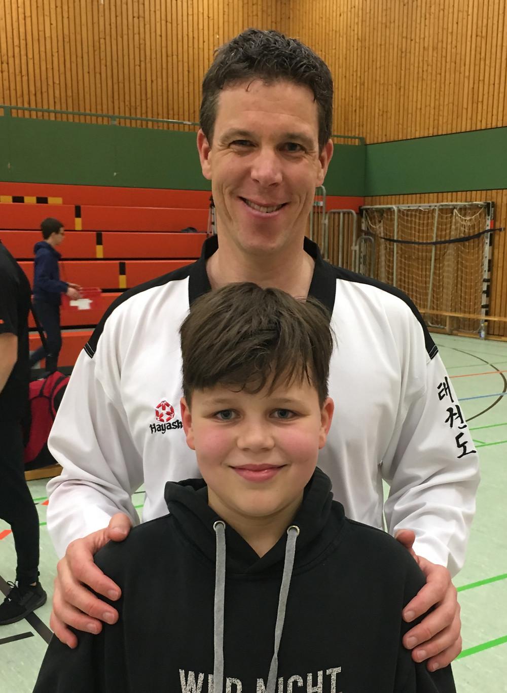Taekwondo Landesmeisterschaft Stefan und Luca Huber