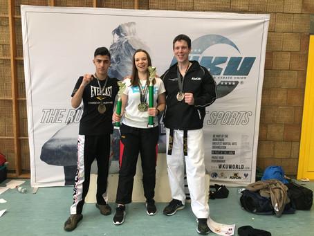 4 Medaillen für 3 Wettkämpfer