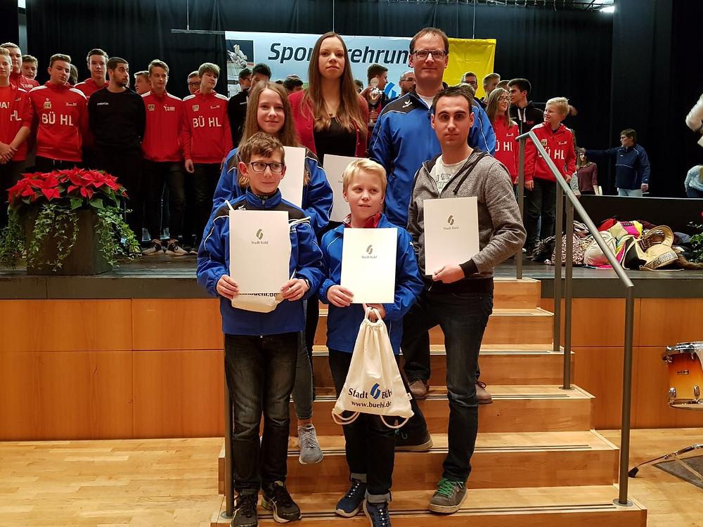 Sporterehrung der Stadt Bühl