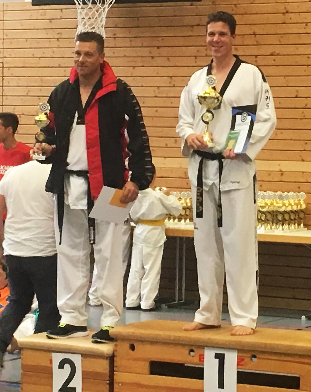 Stefan Huber erster Platz