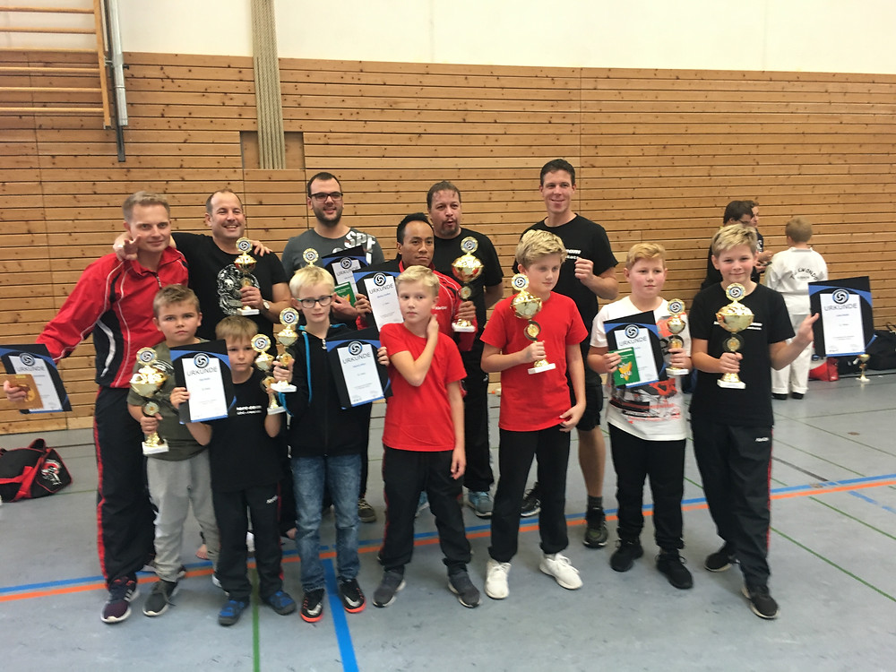 erfolgreiche Kämpfer Taekwondo