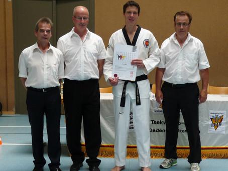 Danprüfung Taekwondo