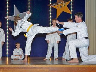 Taekwondo Vorführung bei der Weihnachtsfeier des TVK