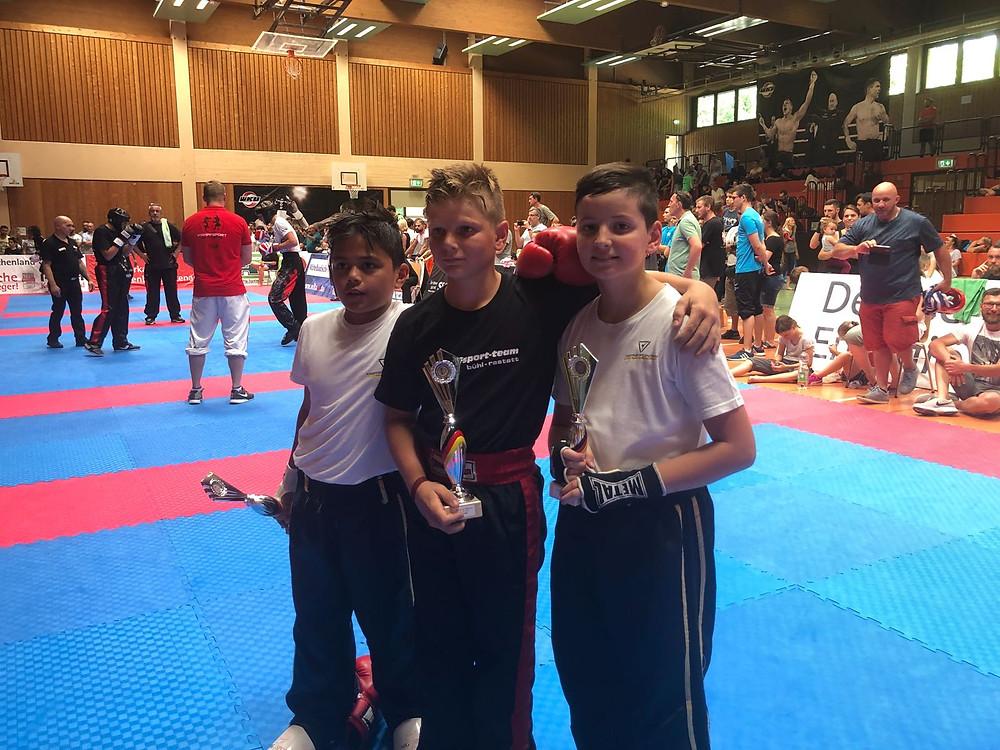 Erfolreichtes Kampfsportteam Bühl Rastatt