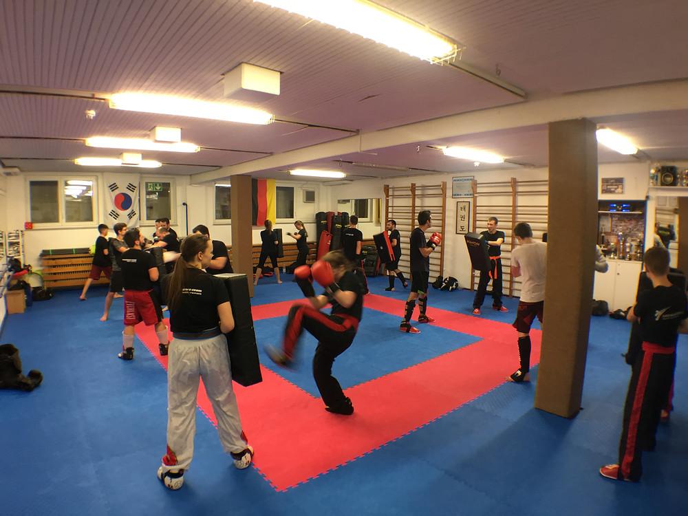 Gürtelprüfung Kickboxen Bühl