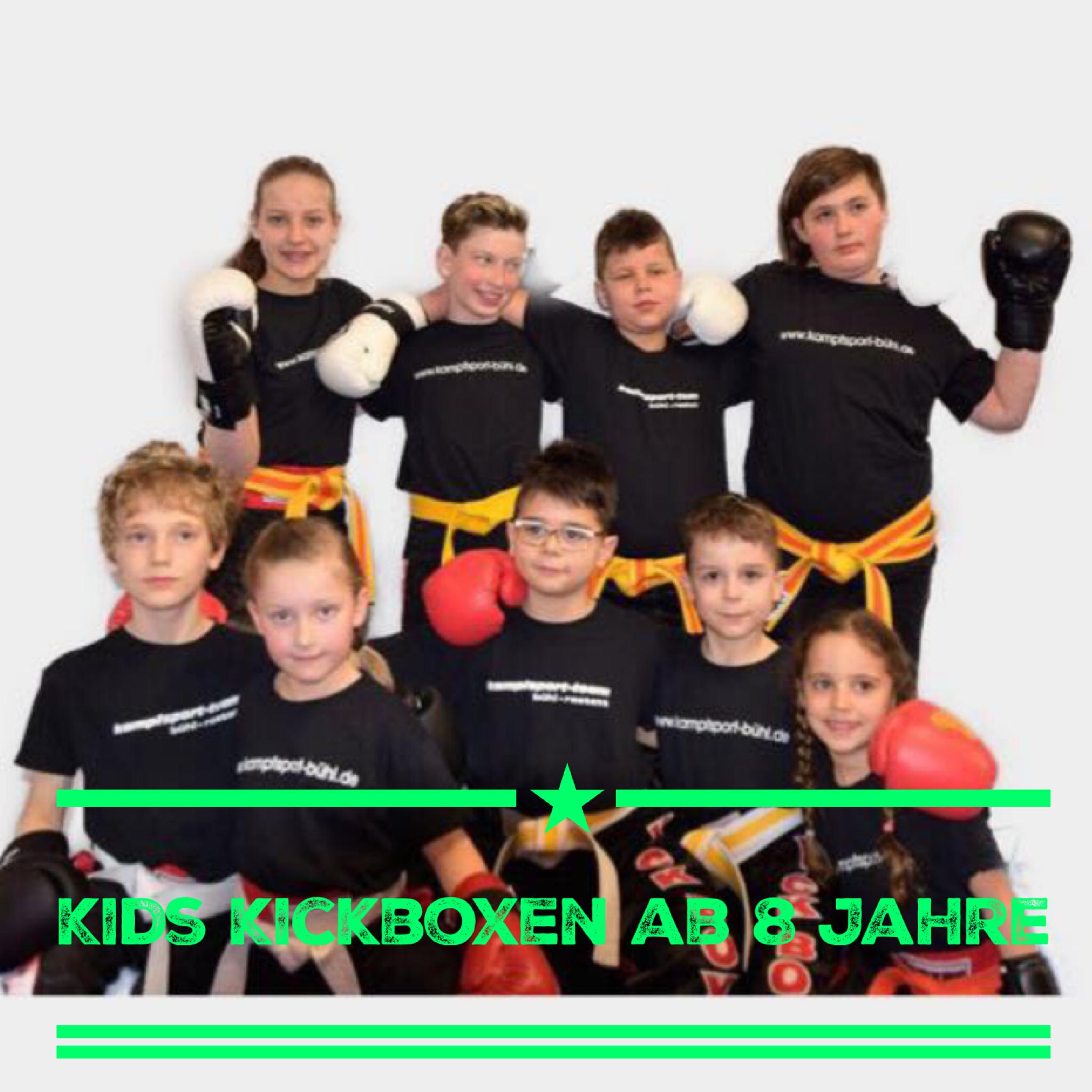 Kickboxen für Kids