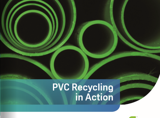 Discover PVC recycling in action in the new Recovinyl / VinylPlus Brochure