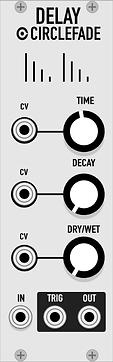 Circlefade VCV Rack Plugin Eurorack Modu