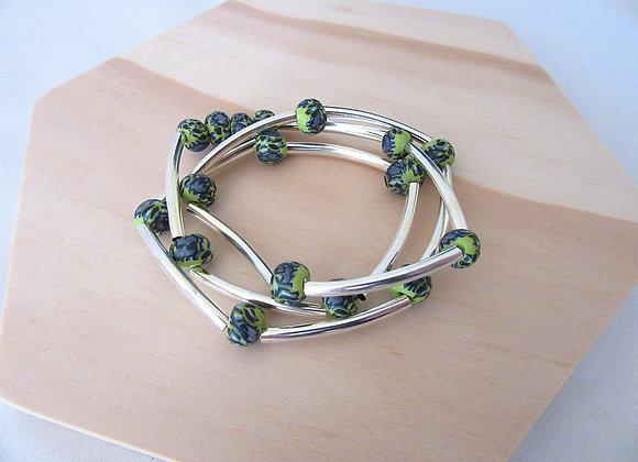 Bracelet avec trois tours de poignet
