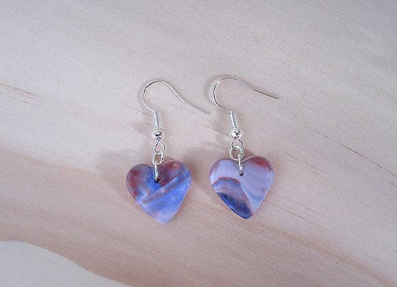 Boucles d'oreilles cœur