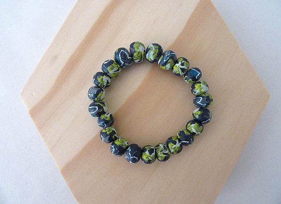 Bracelet perles en pâte polymère
