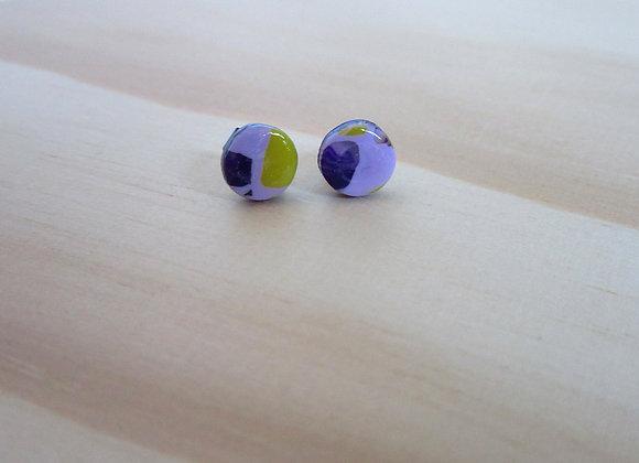 Boucles d'oreilles «puces»