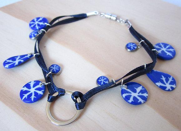 Bracelet flocon de neige