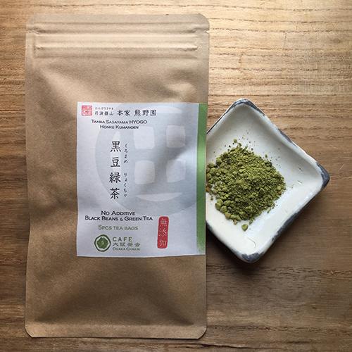 丹波茶 黒豆緑茶 ティーバッグ