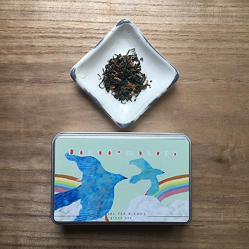 「どこでもそら」シリーズ 玉緑茶 × 柚子ピール × じゃばらピール