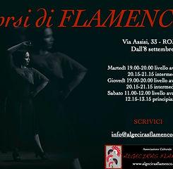 Corsi di flamenco 2020