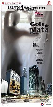 GOTA DE PLATA flamenco