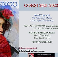 Corsi di flamenco 2021