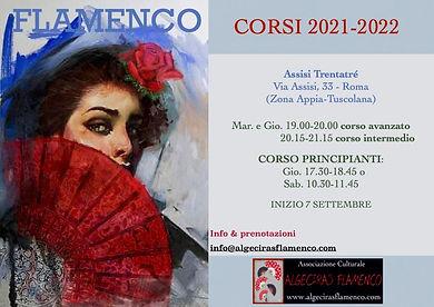 Corsi di flamenco a Roma 2021