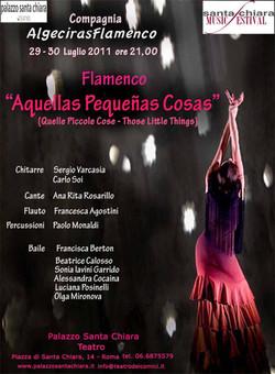 2011 AQUELLAS PEQUENAS COSAS TEATRO PALAZZO S. CHIARA