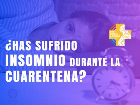 ¿Has sufrido insomnio durante la cuarentena?