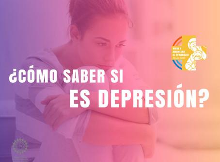 ¿Cómo Saber si es Depresión?