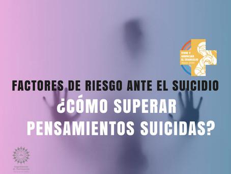 FACTORES DE RIESGO ANTE EL SUICIDIO