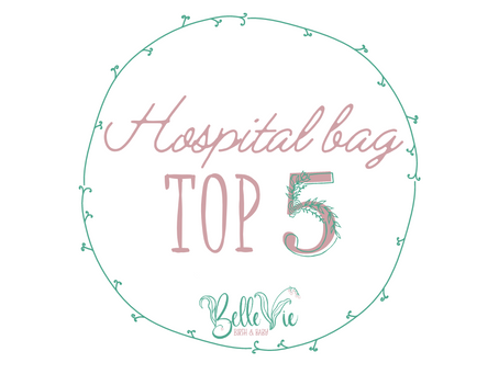 Hospital Bag: Top 5 must-pack items for birth!