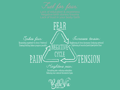 Part I: Negative cycle of fear-tension-pain in birth