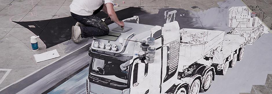 3D рисунок для Mercedes-Benz
