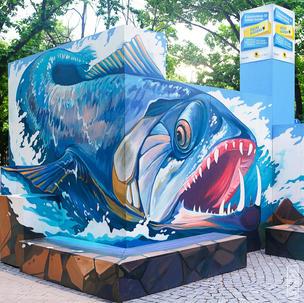 Big Fish 3D stand