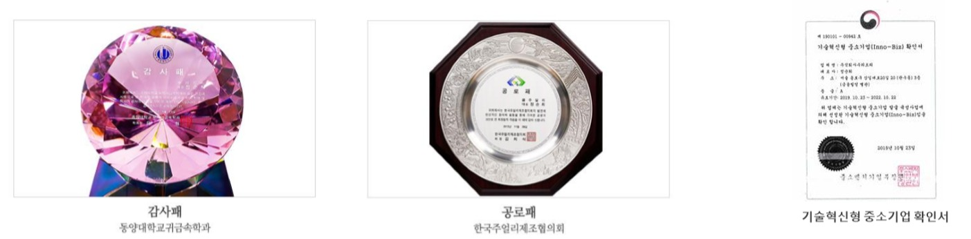 awards of The Yeowoon