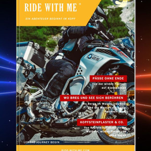 RIDE WITH ME Magazin