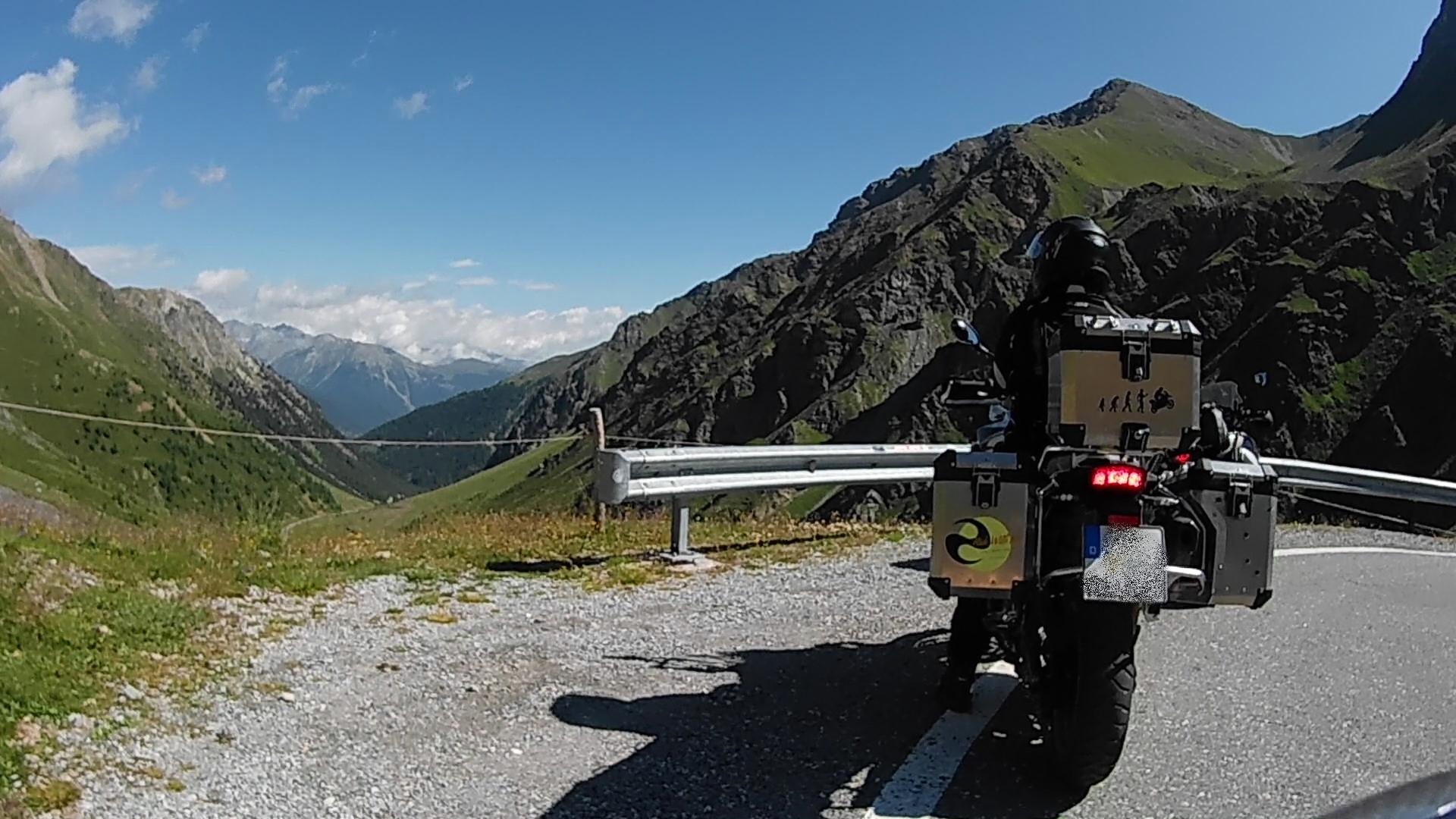 Passo dell'Umbrail, Italien