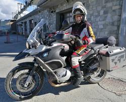 Biker-Freund Uwe