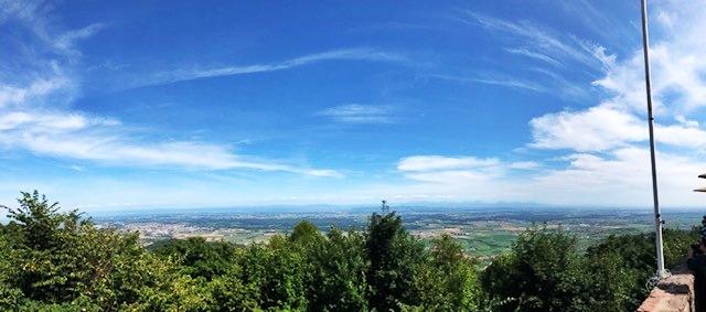 Aussicht von der Hohkönigsburg