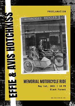 Effi & Avis Hotchkiss Memorial Motorcycl