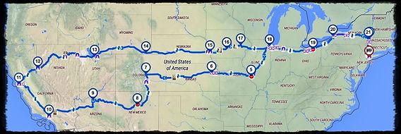 Effie Hotchkiss - Route