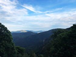 Aussicht vom Col du Calvaire