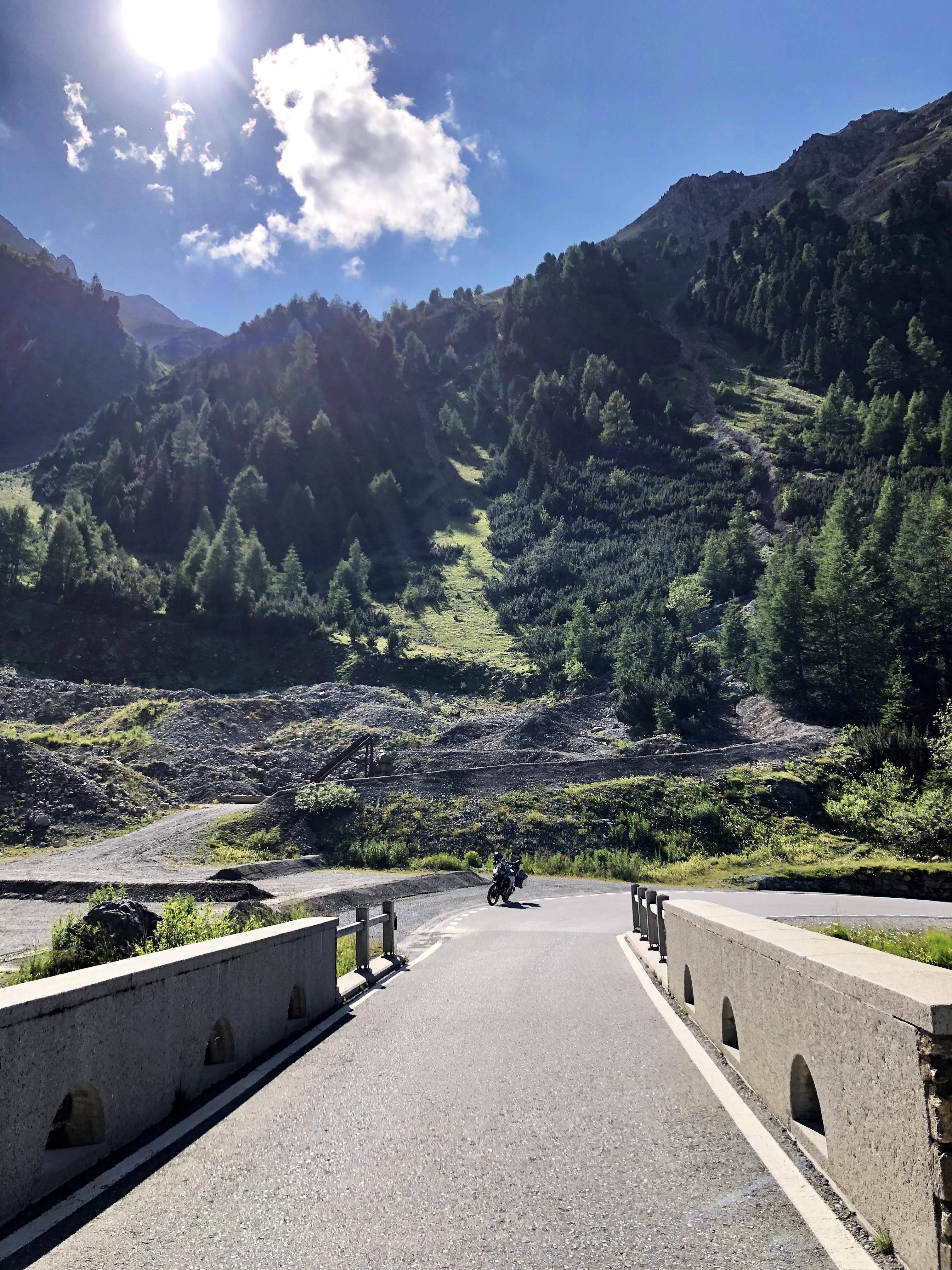 Passo dell'Umbrail, Schweiz