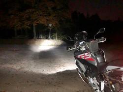 Es ist spät geworden und im Schwarzwald ist's dunkel