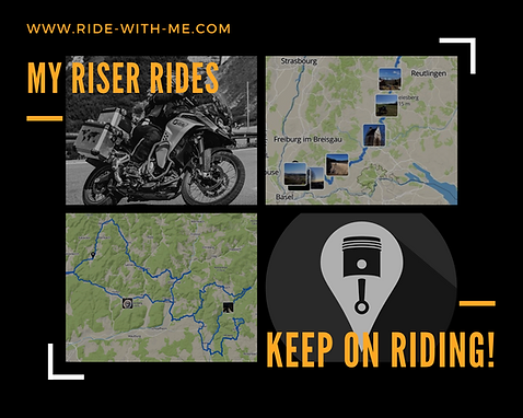 My Riser Rides - Keep on riding