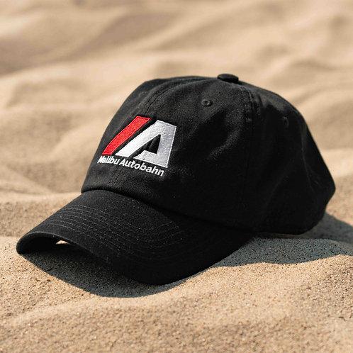 *New edition* Malibu Autobahn Black Embroidered Hat