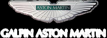 Galpin Aston Martin Logo White Lettering
