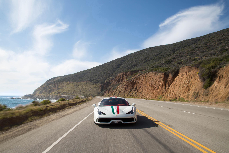 Malibu Autobahn Ferrari Lambo Rolls