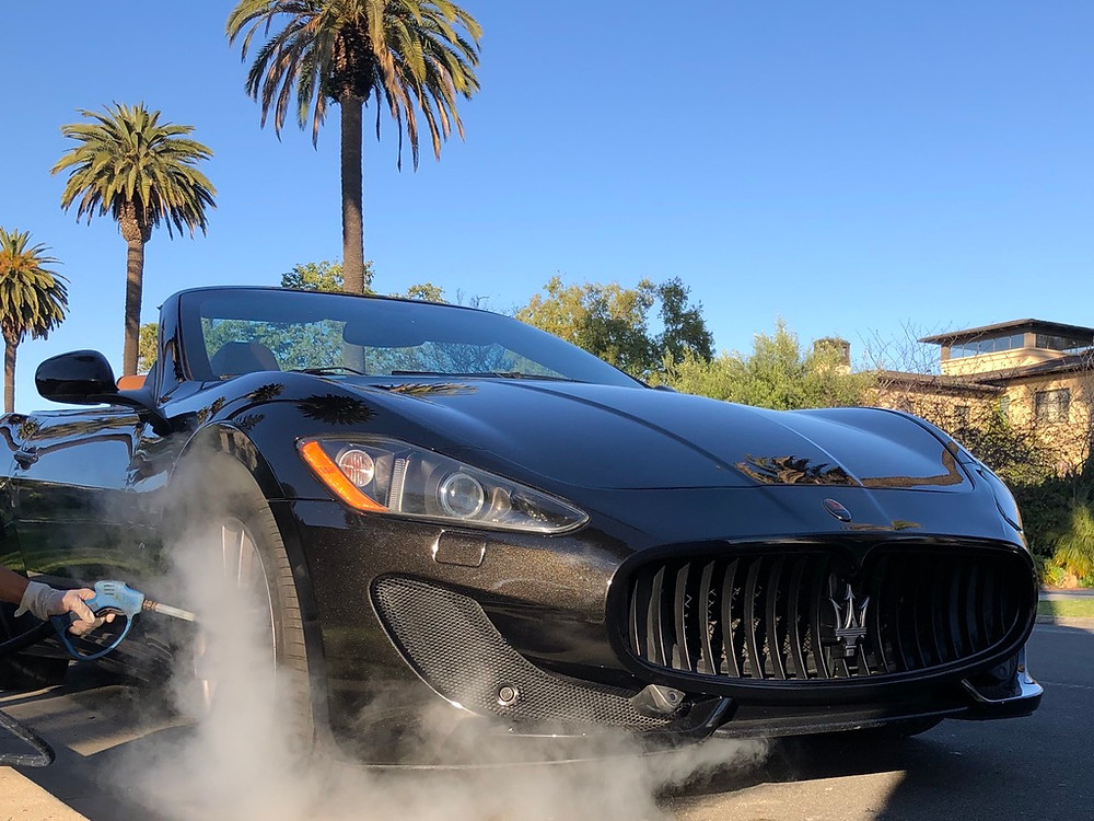 Maserati Gran Turismo getting a steam sanitization