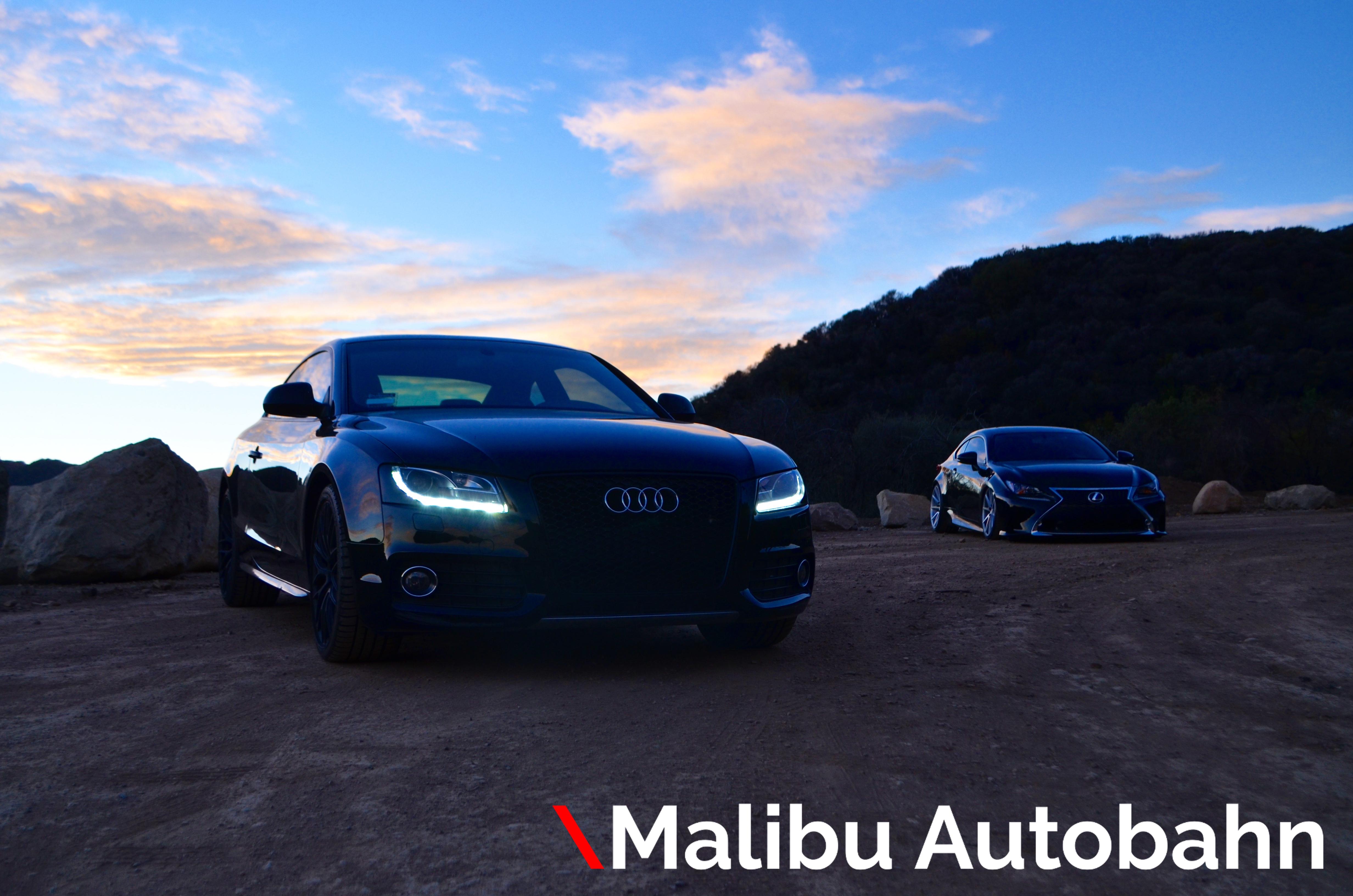 Lexus RC F & Audi S5